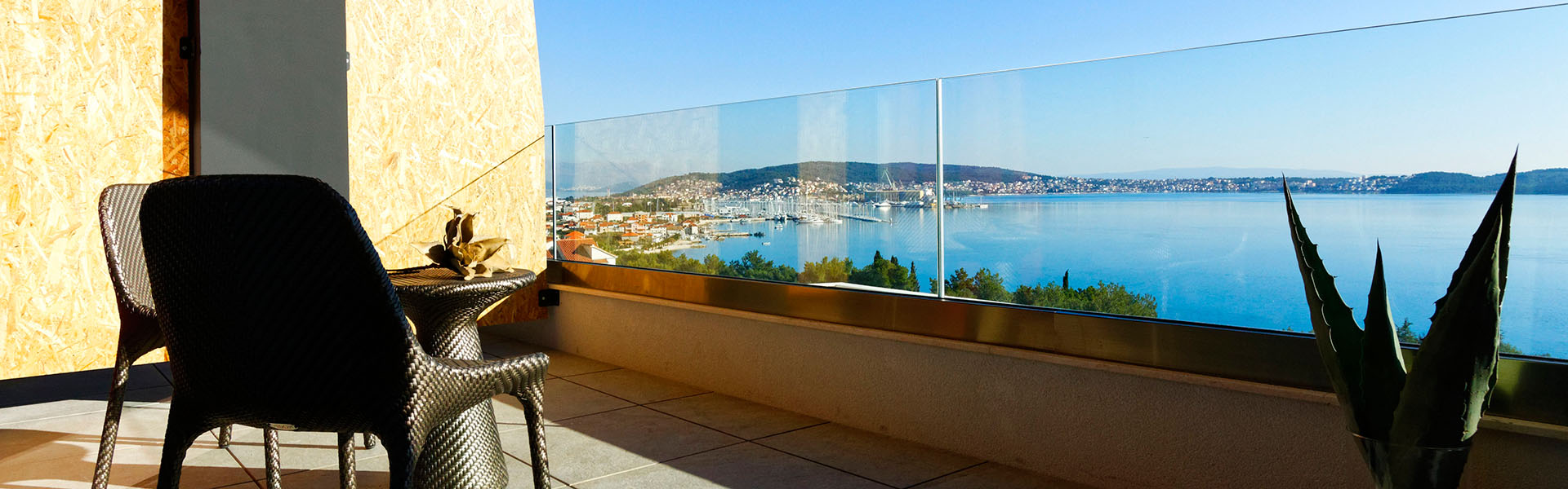 standard hotel room with sea view Croatia